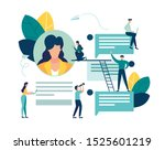 vector colorful illustration of ... | Shutterstock .eps vector #1525601219