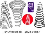 springs in the set | Shutterstock .eps vector #152564564