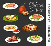 Chilean Cuisine Fish And Meat...