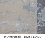 masonry cement wall with tan... | Shutterstock . vector #1525711430