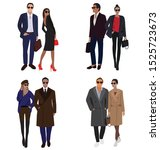 vector fashion illustration of...   Shutterstock .eps vector #1525723673