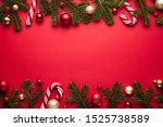 merry christmas and happy new... | Shutterstock . vector #1525738589