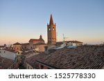 Cattedrale di Santa Croce (Cathedral of the Holy) in Forli, Italy
