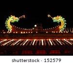 dragon roof top | Shutterstock . vector #152579