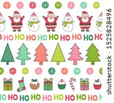 cute cartoon character  pine... | Shutterstock .eps vector #1525828496