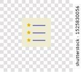 list icon sign and symbol. list ...