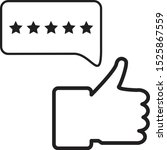 feedback icon on white...