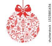 Christmas Red Tree Ball....