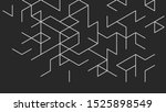 abstract vector background.... | Shutterstock .eps vector #1525898549
