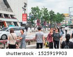 seoul  south korea   30 july ... | Shutterstock . vector #1525919903