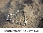 Heart Of Pebbles And Shells...