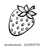 vector monochrome illustration... | Shutterstock .eps vector #152595770