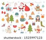 Winter Holidays Symbols And...