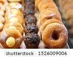 Donuts And Rings. Hot Pastries...