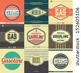 Collection Of Retro Gasoline...