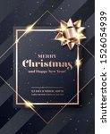 merry christmas vector... | Shutterstock .eps vector #1526054939