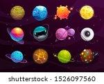 funny galaxy concept. cartoon...   Shutterstock .eps vector #1526097560