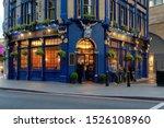 English traditional pub in...