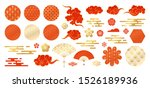 asian design element set....   Shutterstock .eps vector #1526189936