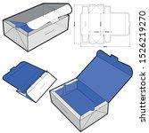 748 folding box  internal... | Shutterstock .eps vector #1526219270