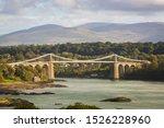 The Menai Suspension Bridge...