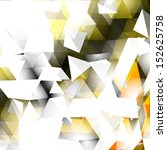 abstract triangular background | Shutterstock .eps vector #152625758