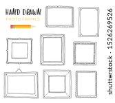 hand drawn vector illustrations.... | Shutterstock .eps vector #1526269526