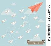 Paper Plane Leader