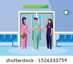 group medicine workers in...   Shutterstock .eps vector #1526333759