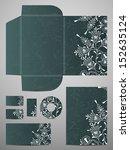 stationery set | Shutterstock .eps vector #152635124