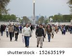paris  france   april 24  luxor ... | Shutterstock . vector #152635199