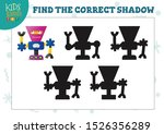 find the correct shadow for... | Shutterstock .eps vector #1526356289