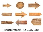 collection of various empty... | Shutterstock . vector #152637230