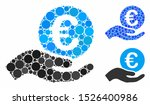 euro salary mosaic for euro... | Shutterstock .eps vector #1526400986