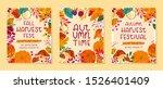 bundle of seasonal vector... | Shutterstock .eps vector #1526401409
