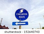 Streetsign Emergency Route In...