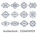 geometric labels. geometrical... | Shutterstock .eps vector #1526454929