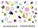abstract and trendy modern... | Shutterstock .eps vector #1526478656