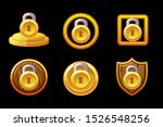 security vector icon. set...