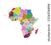 vector illustration of africa... | Shutterstock .eps vector #1526556896