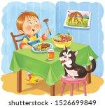 my day. schedule. cute little... | Shutterstock . vector #1526699849