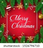 christmas vector background... | Shutterstock .eps vector #1526796710