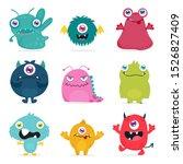 Cute Monster Design For Kids...