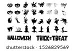set of halloween character... | Shutterstock .eps vector #1526829569