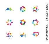 community vector icon... | Shutterstock .eps vector #1526841203