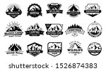 outdoors nature badges.... | Shutterstock . vector #1526874383