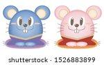 2020 zodiac cute mouse set  ...
