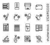 kitchen appliances  equipment ... | Shutterstock .eps vector #1526902103