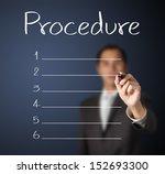 business man writing blank... | Shutterstock . vector #152693300