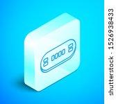 isometric line poker table icon ... | Shutterstock .eps vector #1526938433